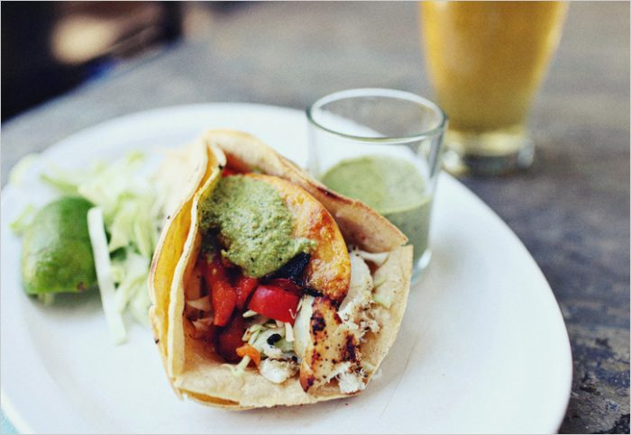 Saucy Fish Taco's from Spouted Kitchen