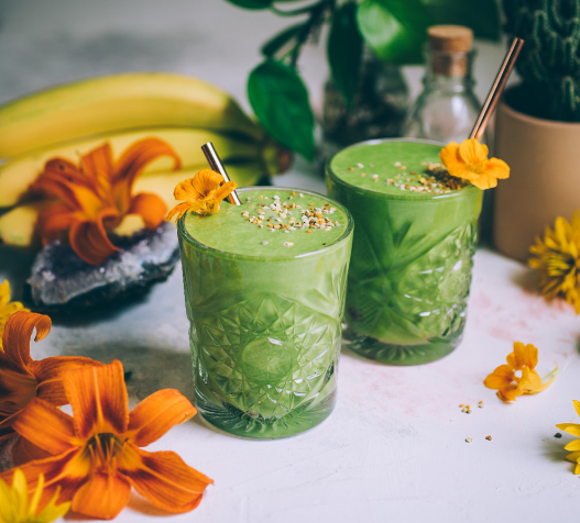 'Greenacolada' aka Pineapple Coconut Kale Smoothie from Will Frolic With Food